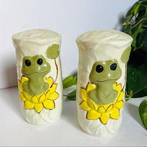 1970's Salt & Pepper Ceramic Shakers